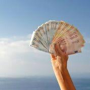 1000 Euro Geld in wenigen Minuten auf dem Konto